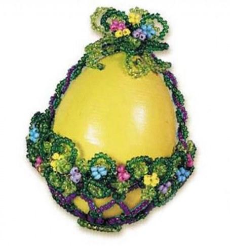 Набор Riolis Premium для бисероплетения Яйцо-корзинка Б015 в Москве