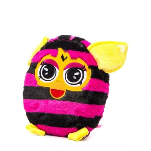 Мягкая игрушка 1toy Furby в полоску (подушка) 30 см Т57472 в Москве