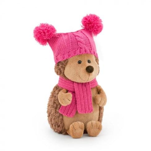 Мягкая игрушка Orange Ежиха Колючка в шапке с двумя помпонами 26 см OS607/26 в Москве