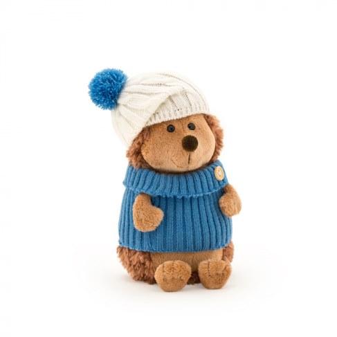 Мягкая игрушка Orange Ёжик Колюнчик в шапке с голубым помпоном 15 см OS605/15B в Москве