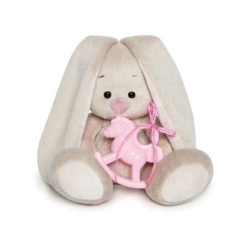 Мягкая игрушка Зайка Ми с розовой лошадкой 15 см SidX-229 в Москве