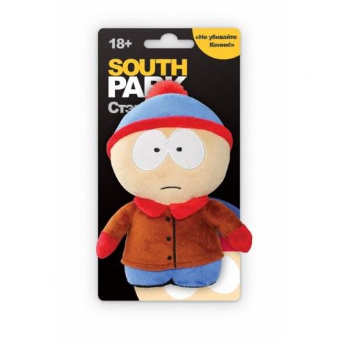 Мягкая игрушка 1toy Южный парк Стэн 12см с чипом Т57485 в Москве