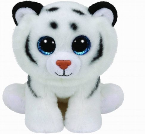 Мягкая игрушка TY Тигренок белый Tundra 25 см 90219 в Москве