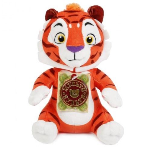 Мягкая игрушка Мульти-Пульти Тигр и Лео Тигр 20см (звук) V39455/20 в Москве