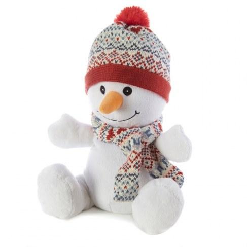 Мягкая игрушка WARMIES Снеговик, грелка CP-SNO-1 в Москве