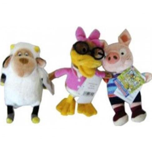 Мягкая игрушка Commonwealth Свинка и друзья 26195 в Москве