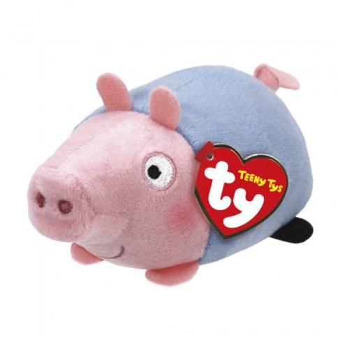 Мягкая игрушка Teeny Tys Свинка 42176 Джордж в Москве