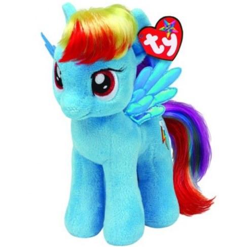 Мягкая игрушка TY Пони Rainbow Dash 25см 90205 в Москве