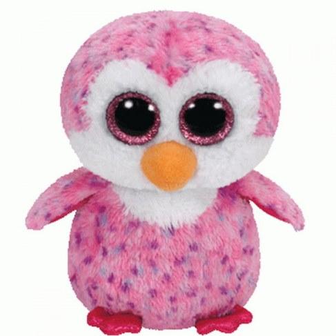 Мягкая игрушка TY Пингвин Glider розовый 36177 в Москве